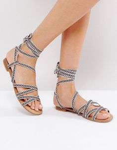 Call It Spring Afauma Gladiator Flat Sandals - Multi