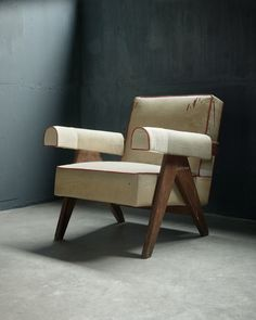 Pierre Jeanneret - Upholstered Easy Armchair