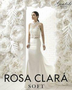 ROSACLARÀ Soft 2019 Stile  bohemien-chic per una sposa sofisticata ed  elegante.  GentileWedding  altamodasposa  Monopoli  sposa2019  weddingidea  ... e898bd01388