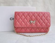 Chanel Butterfly Wallet Lambskin 668 Pink