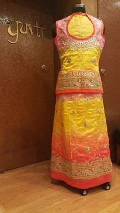 Exclusive #poshak by #YUVTI contact us for more details : 9928024624