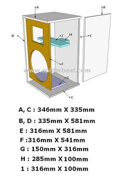 12 Subwoofer Box, Subwoofer Box Design, Speaker Box Design, Speaker Plans, How To Plan, Speakers, Trucks, Music, Box Design