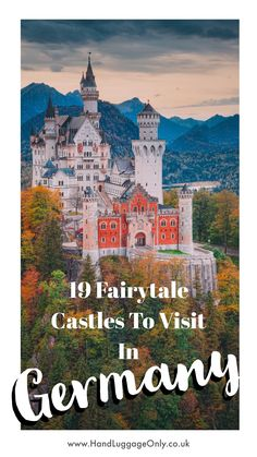19 Fairytale Castles In Germany You Have To Visit - Hand Luggage Only - Travel, Food & Photography Blog