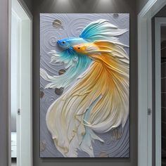 Best Tips for Painting with Textured Paint Sculpture Painting, 3d Painting, Wall Sculptures, Knife Painting, Painting Tools, Art Texture, Texture Painting, Artist Wall, Plaster Art
