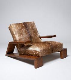 Chair by Jean-Michel Frank ca1940 | Furniture Design | Chair Design | Designer Chair