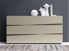 Presotto Jazz chest of drawers | quirky no handles drawer fronts | Robinsons Beds