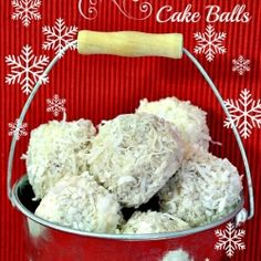 Snowball Fight-Cake Balls