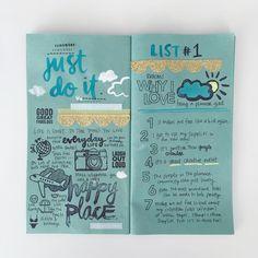 Live Life and Create: Amy Tangerine is doing the creative midori challenge? Moleskine, Smash Book, Art Journal Pages, Art Journals, Journal Themes, Bullet Journals, Journal Ideas, Jm Barrie, Arte Sketchbook