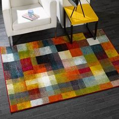 These rugs are robust and hard wearing with a stain resistant, anti-shed and easy to clean pile.