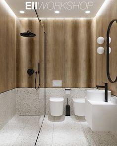 E-neoclassic interior on Behance Ada Bathroom, Relaxing Bathroom, Modern Bathroom, Bathroom Design Luxury, Bathroom Design Small, Zeina, Bathroom Inspiration, Interior Styling, Behance