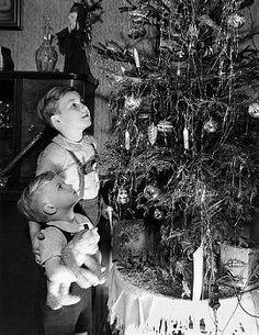 Kids, presents, decorating the tree. leaving treats for Santa and his elves...so many happy childhood memories.