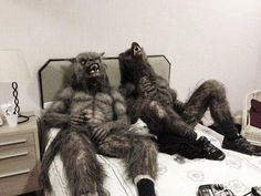"""I think that's enough #WerewolfWednesday! Get some rest & see you next week! (Behind-the-scenes: BBC's """"Being Human"""".)"""