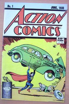 Online Marketplace at eBid South America : Free to Bid Action Comics 1, Superman 1, Incredible Hulk, 50th Anniversary, X Men, South America, Sci Fi, The Incredibles, Superhero
