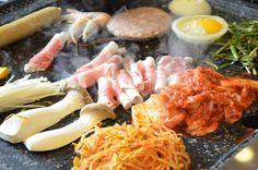 Korean BBQ Medley devoured at Somunan Baekjung near Hongdae, Seoul. Korean Bbq, Korean Food, Hongdae, Spicy Dishes, Korean Drama, Seoul, Kdrama, Peeps, I Am Awesome