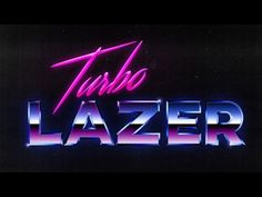 How To Create an 80's Style Chrome Logo Text Effect in Photoshop - YouTube