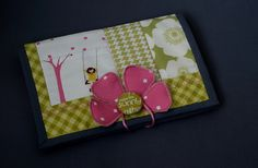 Sherbet Spring sewing pouch,