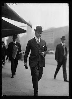1bohemian:  F.A. Scott, Cleveland, 1917, Harris & Ewing, Photographers, Glass Negative.