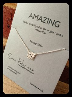 Back to school Friendship. Amazing Necklace . Inspirational jewelry on Etsy, $45.00 www.erinpelicano.etsy.com