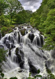 Swallow Falls, North Wales
