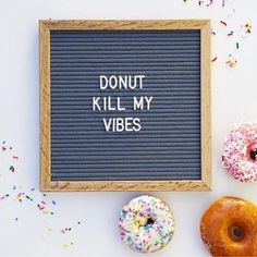 The most versatile and minimalist decoration for your home - felt letter board. Totally in love with and all of the fun boards they create! Inspirational and funny letter board quotes. The Letter Tribe Word Board, Quote Board, Message Board, Donut Kill My Vibe, Felt Letter Board, Felt Boards, Neon Party, Maskarade Party, Party Dress