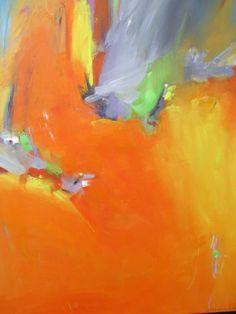 Eileen Johnson abstract paintings