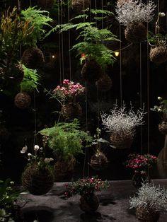 kokedama ball string garden | string gardens by fedor van der valk string gardens by