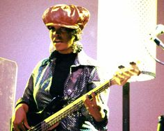 """Tracey Wormworth.  Best known for the Waitresses, she's also played with Sting and the B52s.  If nothing else, she should be honored for the great bassline in """"Christmas Rapping""""."""