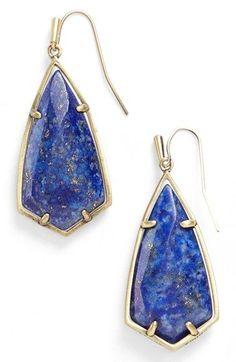 Kendra Scott 'Carla' Semiprecious Stone Drop Earrings available at #Nordstrom