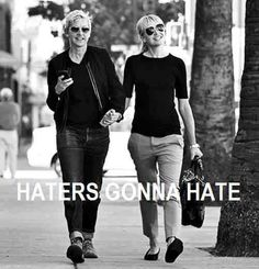 #haters #LGBT #lesbian #love #equality #loveislove