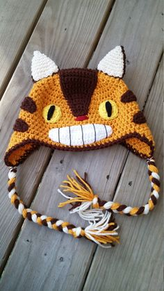 Studio Ghibli My Neighbor Totoro Catbus hat (Child-Adult)