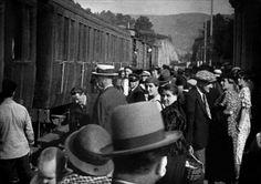 Arrivée d'un train en gare de La Ciotat