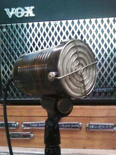 Vintage Harmonica Tin Can Microphone   eBay http://www.ebay.com/itm/350732119736?ssPageName=STRK:MESELX:IT&_trksid=p3984.m1555.l2649#