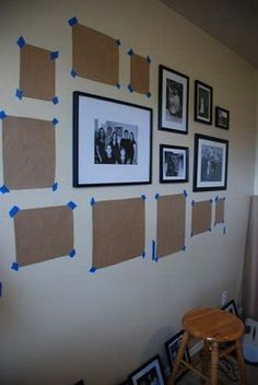 Picture frames on the wall ideas [26] | manlikemarvinsparks.com