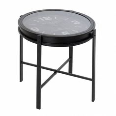 Outdoor Tables, Outdoor Decor, Clock, Outdoor Furniture, Home Decor, Industrial Coffee Tables, Centerpieces, Black Watches, Occasional Tables
