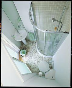 compact bathroom on Pinterest |