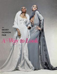 Ebony Fashion Fair 1972. The extraordinary Billie Blair and Pat Cleveland.
