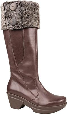 f8d1067de6ab05 Boots Worth Buying · Furry fuffernutters. Button up. Sheekness. Brown  leather boots go perfect with your favorite