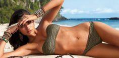 Quali sono i segreti per ottenere un'abbronzatura da manuale mantenendo però una pelle saa secondo #BrigitteValesch? #spytwins #spytrends #summer2016 #sun #hot #bikini