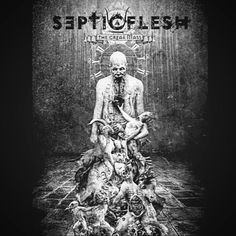 I've been listening to this great band for awhile now and I really haven't been a fan of Metal or any kind of Metal for that matter but this band opened a whole new world for my ears lol. They've been going at it for awhile now and I only wished I could have found then more early. The band name is Septic Flesh and a 10/10 from me but be my guest you won't be disappointed. The album name is The Great Mass... #Metal #Music #septicflesh #genre #album #albumcover #song #thegreatmass #Inspiring…