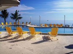 Postcard Inn pool Holiday Isle, Fl