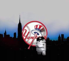New York Yankees Backgrounds Yankees Logo, New York Yankees, Stadium Wallpaper, Yankee Stadium, Derek Jeter, Baltimore Orioles, Cool Wallpaper, Darth Vader, Baseball