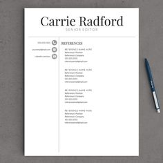 Dots Simple Modern Unique Resume Template For By Yourstandoutshop