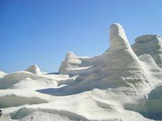 Sembra la Luna, invece è una spiaggia in Grecia   Spiaggia.Piksun.com