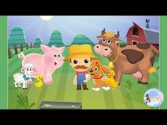 Old MacDonald Had a Farm - enjoy it. Sound Song, Baby Songs, Nursery Rhymes, Farm Animals, Pikachu, Channel, Kids, Collection, Young Children