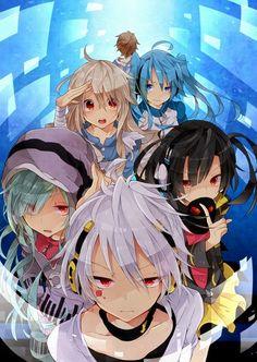 Kagerou Project Kido and Hibiya Vocaloid, Kagerou Project, Manga Art, Manga Anime, Anime Art, Ene Anime, Mabuchi Kou, Anime Group, Kawaii