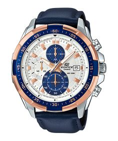 Casio Edifice EFR-539L-7CV - For Men Price In Pakistan  PRODUCT DESCRIPTION   Case / bezel material: Stainless steel  Genuine Leather Band  Screw Lock Back  Mineral Glass  Black ion plated bezel  100-meter water resistance  1/10-second stopwatch Measuring capacity: 59'59.