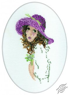 The Woman With The Hat II - Cross Stitch Kits by RTO - R292