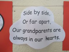 Grandparents Day Poems- Poems for Grandparents Day 2016 – Happy … – Gift Ideas Grandparents Day Preschool, Grandparents Day Cards, Toddler Crafts, Preschool Crafts, Crafts For Kids, Baby Crafts, Preschool Ideas, Teaching Ideas, Quotes Girlfriend