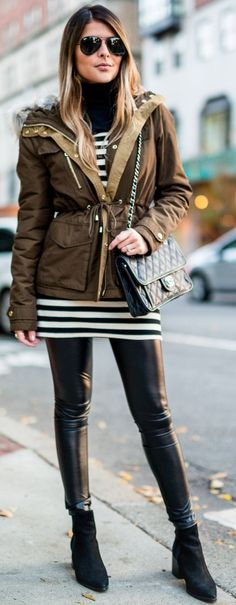 How To Rock A Parka Jacket by The Girl From Panama