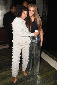 Beyoncé en Solange